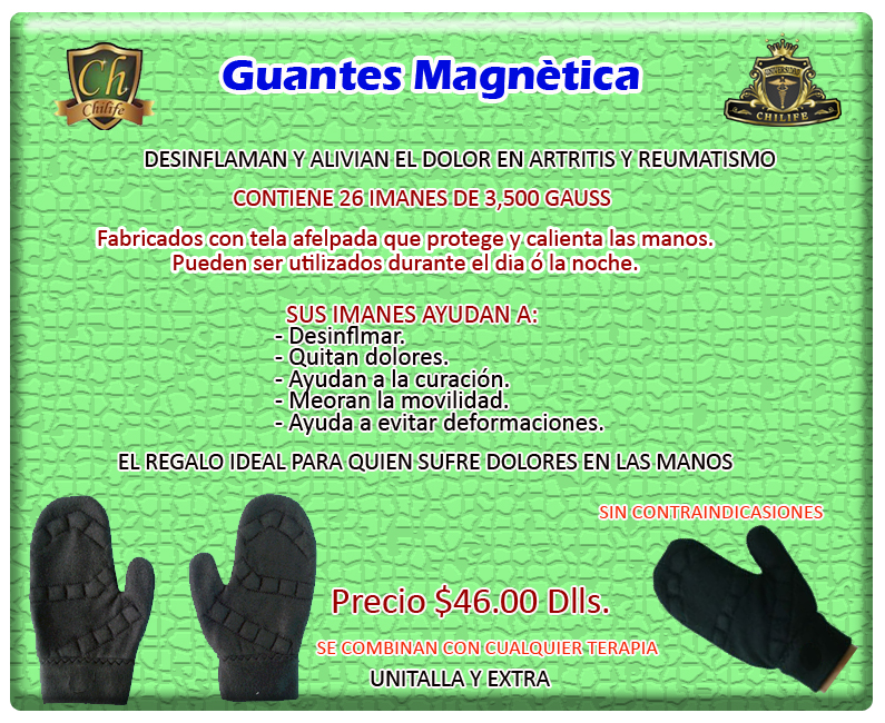 GUANTES MAGNETICOS
