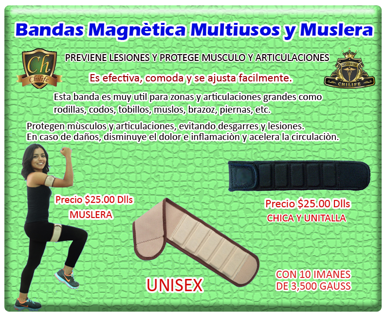 banda magnetica multiusos