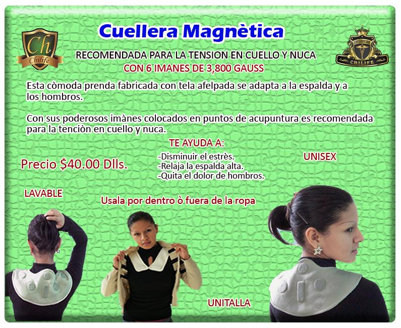 cuellera magnetica
