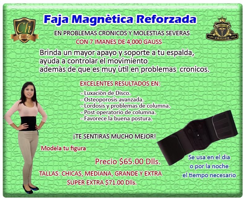 faja magnetica reforzada