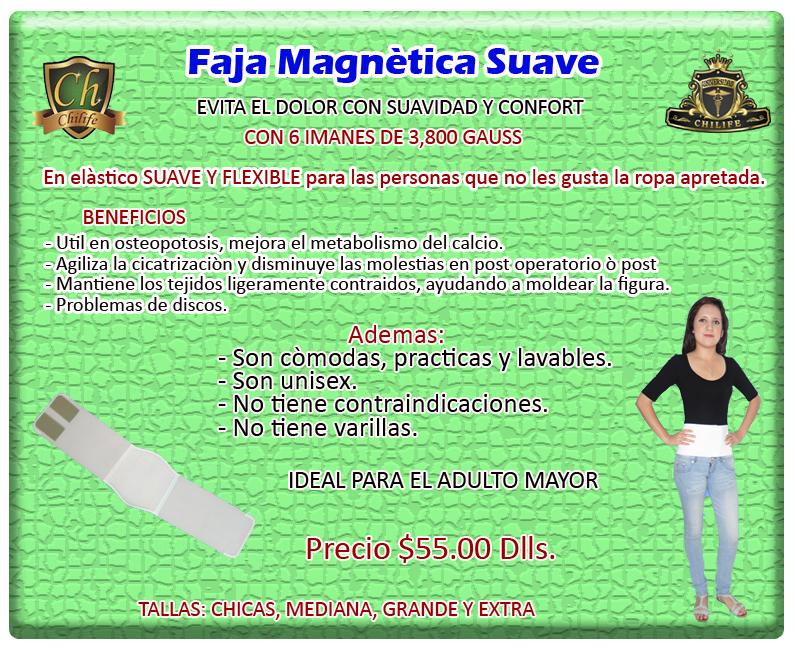 faja magnetica suave