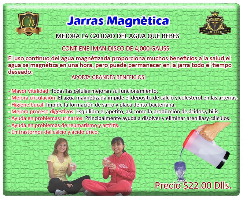 jarra magnetica